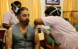 अभिनेता कमल हसन यांनी घेतला चेन्नई मध्ये कोरोना लसीचा पहिला डोस