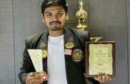 मोशी येथील मनोज गुंजाळ याला 'राष्ट्रीय सेवा योजना पुरस्कार', राष्ट्रपतींच्या हस्ते वितरण