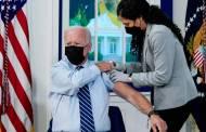 अमेरिकेचे राष्ट्राध्यक्ष जो बायडेन यांनी लसीचा बुस्टर डोस घेतला