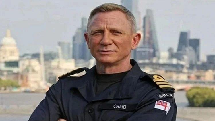 'जेम्स बाँड' डॅनियेल क्रेग रॉयल नेवीच्या कमांडरपदी