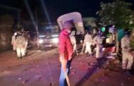 औरंगजेबाविषयीच्या फेसबुक पोस्टवरून उस्मानाबादमध्ये तुफान राडा, जमावाकडून दगडफेक; चार पोलीस जखमी