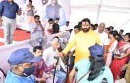 विधायक उपक्रम :  इंद्रायणीनगर येथील महाआरोग्य शिबिराचा ३ हजार नागरिकांना लाभ