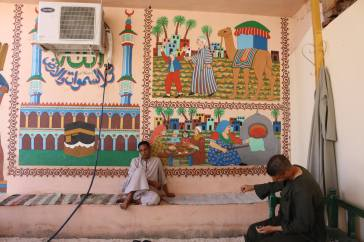 Egypt mural