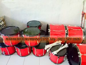 Produsen Tenor Drum Band Halmahera Barat