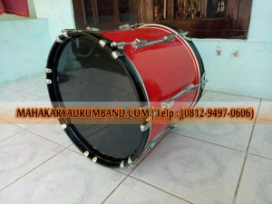 Pembuat bass drum marching band Rangkasbitung