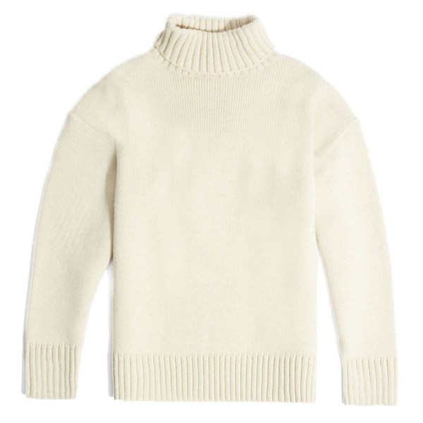 flat Roll neck cream submariner pure merino wool jumper.Inspired by traditional handmade wool jumpers worn by the British seaman, this jumper will keep you warm and comfortable.British made by Mahala is an independent homewares and accessories