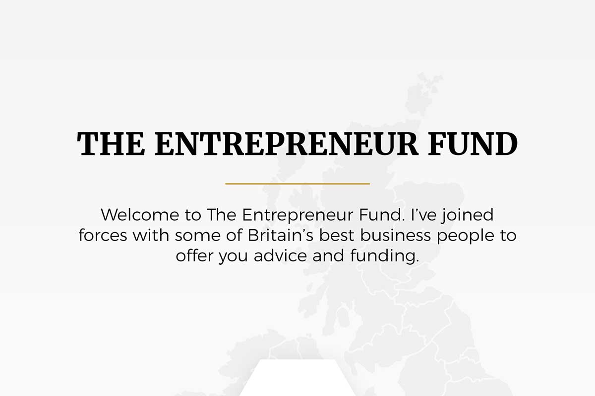 The Entrepreneur Fund infographic