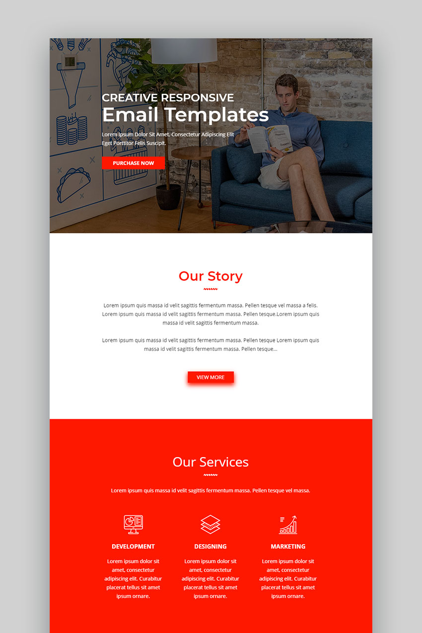 Webwall Custom Mailchimp Templates