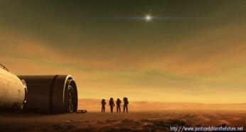 Testing the M2P2 engine in Mars orbit