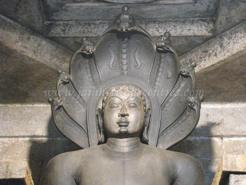 Lord Parshwanath idol.