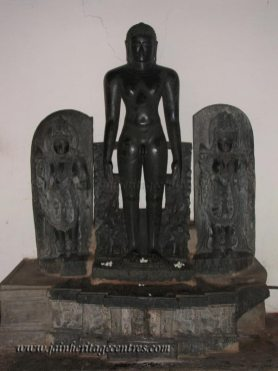 Lord Shanthinath, Shanthinath Basadi, Chandragiri Hillock, Shravanabelagola.