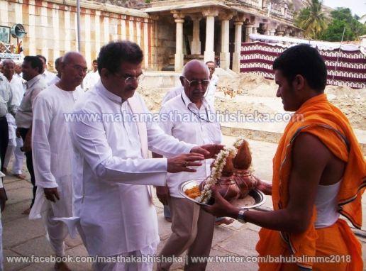 Mahamastakabhisheka-2006-Acharya-Sri-Vardhamansagarji-Maharaj-Mangala-Pravesh-0001