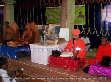 Mahamastakabhisheka-2006-Acharya-Sri-Vardhamansagarji-Maharaj-Mangala-Pravesh-0022