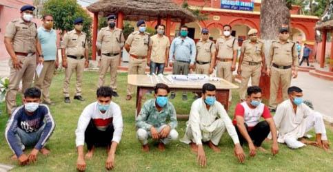 हरिद्वार : खेड़ीखुर्द हत्याकांड में शामिल 6 आरोपी गिरफ्तार