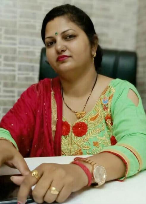 आरती शर्मा होंगी ट्राइसिटी की कोर्डिनेटर