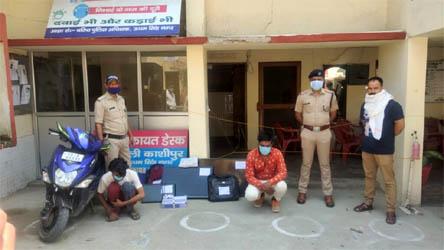काशीपुर : आवास विकास में हुई चोरी के मामले में दो गिरफ्तार, एक चोर के पिता व जीजा भी हैं चोर