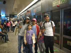 First Trip Abroad with My Fam