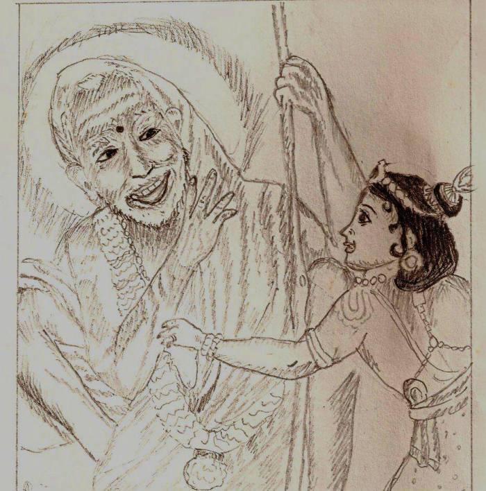 Drawing by Viji Subramanian's daughter