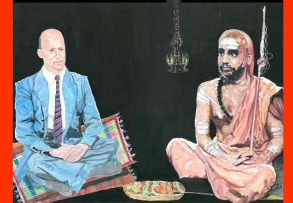 40 Mahaperiyava with Paul Brunton 04082014