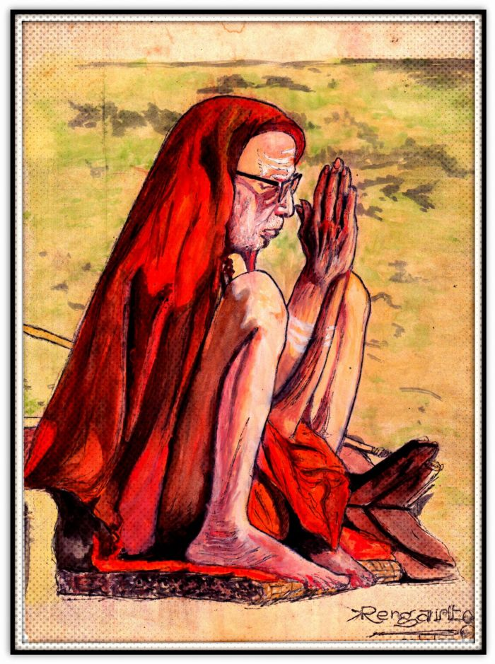 Periyava-vandhanam-ranganathan-painting
