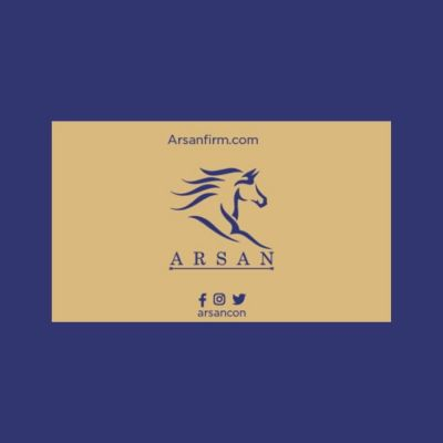 تصميم شعار شركة أرسان للاستشارات القانونية في أبوظبى