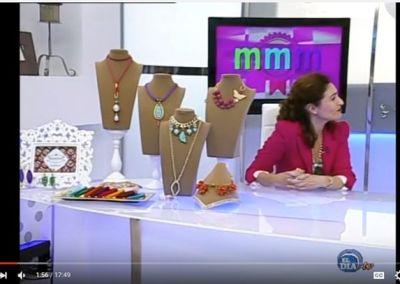 Elisa Salas en El Día TV