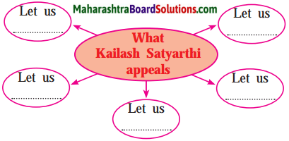Maharashtra Board Class 10 English Solutions Unit 2.5 Let's March 4