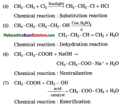 Maharashtra Board Class 10 Science Solutions Part 1 Chapter 9 Carbon Compounds 16