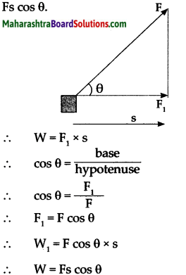 Maharashtra Board Class 9 Science Solutions Chapter 2 Work and Energy 14