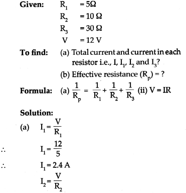 Maharashtra Board Class 9 Science Solutions Chapter 3 Current Electricity 21