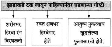 Maharashtra Board Class 10 Marathi Aksharbharati Solutions Chapter 13 हिरवंगार झाडासारखं 4