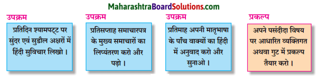 Maharashtra Board Class 7 Hindi Solutions पुनरावर्तन - १ 3