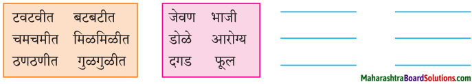 Maharashtra Board Class 7 Marathi Solutions Chapter 7.1 आजारी पडण्याचा प्रयोग 6