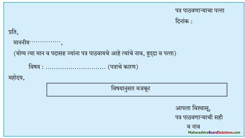 Maharashtra Board Class 8 Marathi Solutions Chapter 7 नातवंडांस पत्र 9