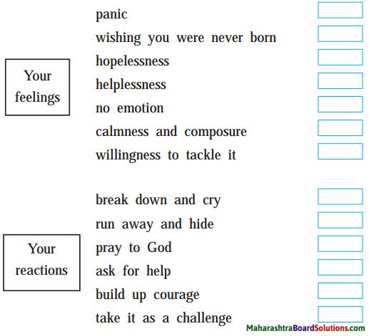 Maharashtra Board Class 9 English Kumarbharati Solutions Chapter 2.1 Invictus 1