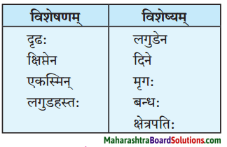 Maharashtra Board Class 10 Sanskrit Amod Solutions Chapter 2 व्यसने मित्रपरीक्षा 1