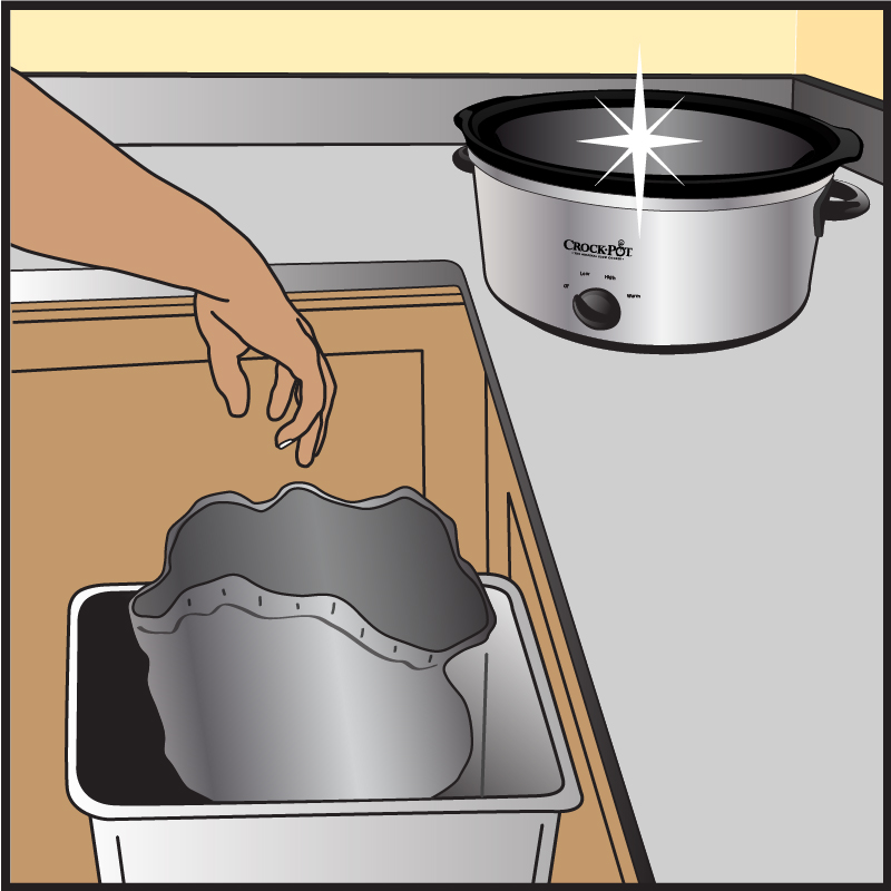 Crock-Pot Liner Illustration 4