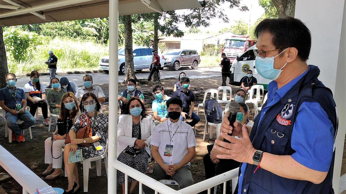 DOH-Calabarzon opens high standard medical facility in Ibaan town