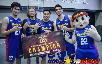 Mascariñas adds extra P100K to Chooks 3×3 President's Cup pot