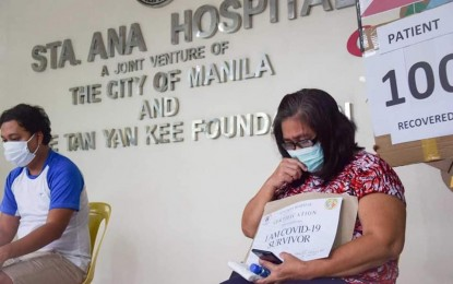 Manila hospital records highest recovery rate in a day