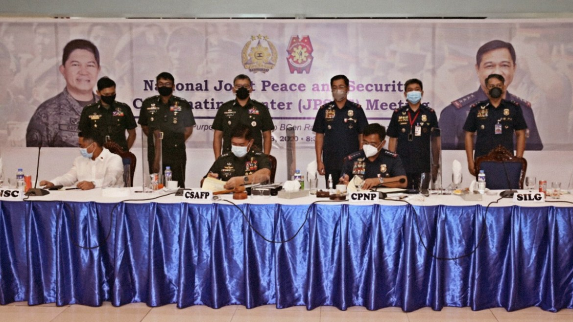 PNP, AFP sign accord on anti-insurgency, terrorism