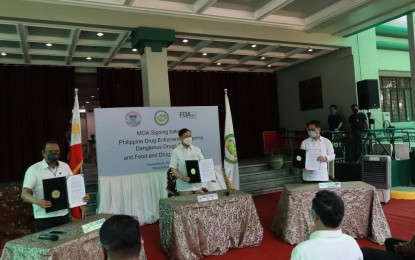 PDEA, DDB, FDA sign agreement regulating sale of controlled drugs