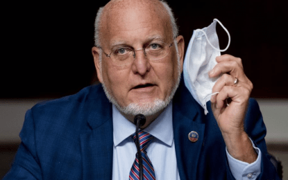 Masks assured 'to protect' more than vaccine: CDC chief