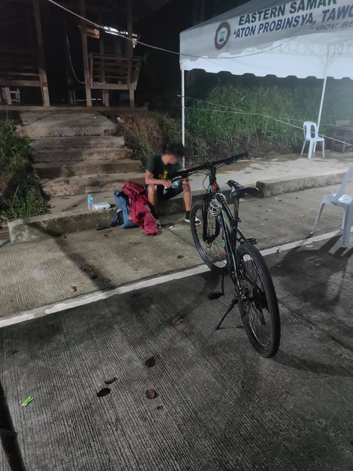 Waray-waray pedals his way back home for 10 days from Metro Manila to Eastern Samar amid pandemic