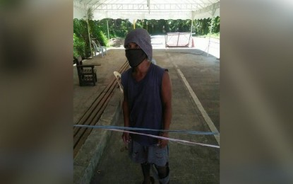 Man back to E. Samar after month-long walk from Manila