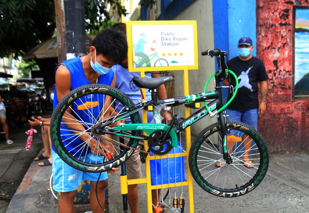 Bike repair shops mushroomed amid Covid-19 pandemic