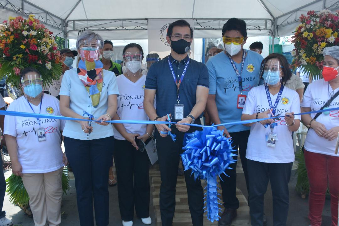 Manila's 5th walk-in COVID-19 testing center launched