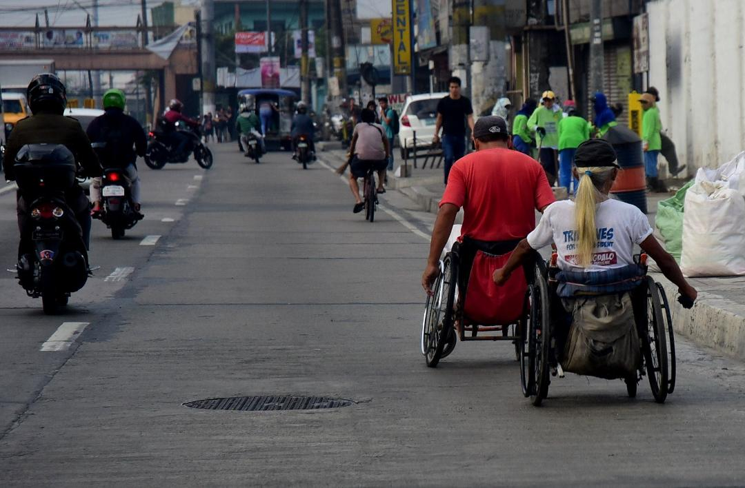 PWDs on wheelchairs dangerously exposed to possible road mishaps