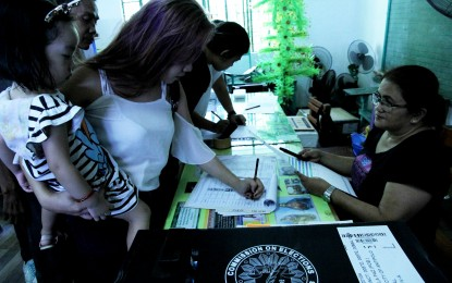 Comelec says low voter registration turnout 'expected'