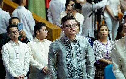 Paolo Duterte refuses to take sides in House speakership row